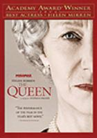 Cover image for The queen [DVD] / Miramax Films ; Pathé Productions and Granada present in association with Pathé Renn Production ... [et al.] ; produced by Andy Harries, Christine Langan, Tracey Seaward ; directed by Stephen Frears ; written by Peter Morgan.