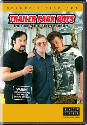 Cover image for Trailer park boys. The complete sixth season [DVD] / TPB III Productions Ltd. ; a Trailer Park Productions and Topsail Productions production ; written by Mike Clattenburg [and others] ; produced by Mike Clattenburg, Barrie Dunn, Michael Volpe ; directed by Mike Clattenburg.