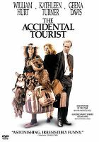 Cover image for The Accidental Tourist [DVD] / Warner Bros. presents a Lawrence Kasdan film ; screenplay by Frank Galati and Lawrence Kasdan ; produced by Lawrence Kasdan, Charles Okun and Michael Grillo ; directed by Lawrence Kasdan.