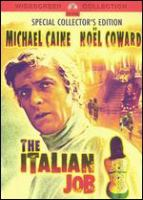 Cover image for The Italian job [DVD] / Paramount Pictures presents an Oakhurst production ; producer, Michael Deeley ; writer, Troy Kennedy Martin ; director, Peter Collinson.