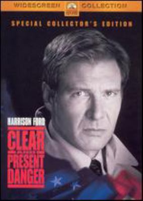 Cover image for Clear and present danger [DVD] / Paramount Pictures presents a Mace Neufeld and Robert Rehme production ; produced by Mace Neufeld and Robert Rehme ; screenplay by Donald Stewart and Steven Zaillan and John Milius ; directed by Phillip Noyce.