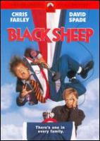 Cover image for Black sheep [DVD] / Paramount Pictures presents ; a Lorne Michaels production ; a Penelope Spheeris film ; produced by Lorne Michaels ; directed by Penelope Spheeris ; written by Fred Wolf.
