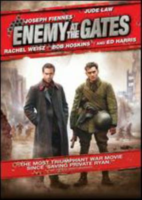 Cover image for Enemy at the gates [DVD] / Paramount Pictures and Mandalay Pictures present a Rep?erage production, a film by Jean-Jacques Annaud ; producers, John D. Schofield, Jean-Jacques Annaud ; writers, Alain Godard, Jean-Jacques Annaud ; director, Jean-Jacques Annaud.