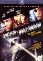 Cover image for Sky Captain and the world of tomorrow [DVD] / Paramount Pictures, Aurelio de Laurentiis and Jon Avnet present ; a Brooklyn Films II/Riff Raff Blue Flower/Filmauro production ; written and directed by Kerry Conran ; produced by Jon Avnet, Marsha Oglesby, Sadie Frost, Jude Law.