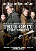 Cover image for True grit [DVD] / Paramount Pictures ; written and directed by Ethan Coen, Joel Coen.