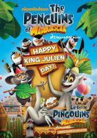 Cover image for Penguins of Madagascar. Happy King Julien Day! [DVD] / Dreamworks Pictures.