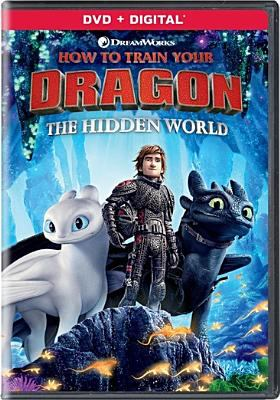 Cover image for How to train your dragon. The hidden world [DVD] / Dreamworks Animation ; produced by Bradford Lewis, Bonnie Arnold ; written and directed by Dean DeBlois.