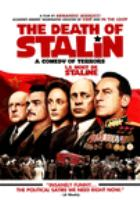 Cover image for The death of Stalin [DVD] / director, Armando Iannucci.