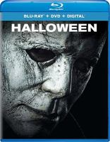 Cover image for Halloween [blu-ray] / Universal Pictures, Miramax and Blumhouse present ; a Malek Akkad production ; in association with Rough House Pictures ; produced by Malek Akkad, Jason Blum, Bill Block ; written by Jeff Fradley & Danny McBride & David Gordon Green ; directed by David Gordon Green.