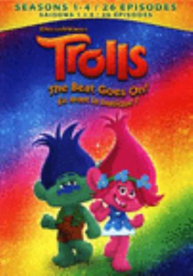 Cover image for Trolls [DVD] : the beat goes on! Season 1-4 [DVD]