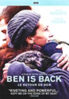Cover image for Ben is back [DVD] / directors, Peter Hedges.