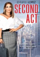 Cover image for Second act [DVD] / director, Peter Segal.