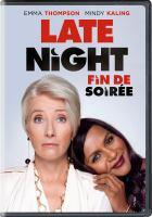 Cover image for Late night [DVD] / director, Nisha Genatra.