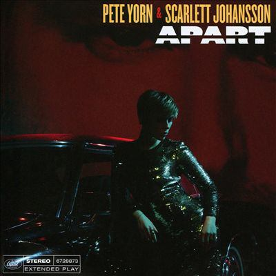 Cover image for Apart [compact disc] / Pete Yorn & Scarlett Johansson.