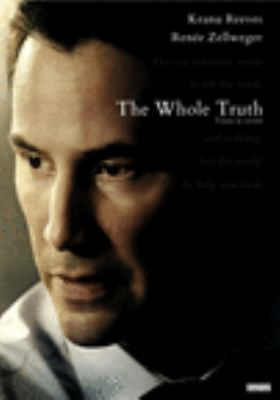 Cover image for The whole truth / screenplay, Rafael Jackson ; director, Courtney Hunt.