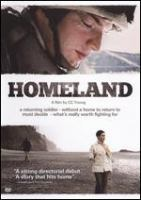 Cover image for Homeland [DVD] / Nostos presents ; a Cormid Films Herotreefilm production ; written and directed by Chris Young ; produced by Crystal McAlerney and Chris Young.