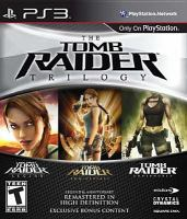 Cover image for Tomb raider trilogy [video game].