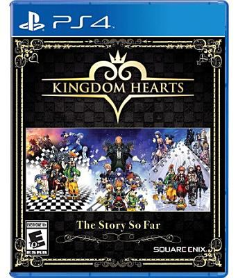 Cover image for Kingdom hearts [video game] : the story so far / Disney.