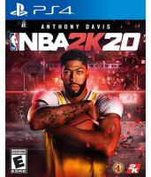 Cover image for NBA 2K20.
