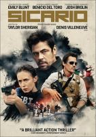Cover image for Sicario [DVD] / directed by Denis Villeneuve.