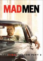Cover image for Mad men. The final season, part 2 [DVD] / Lions Gate Television Inc. ; Weiner Bros. ; created by Matthew Weiner ; executive producer, Matthew Weiner, Scott Hornbacher.