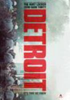 Cover image for Detroit [DVD] / Annapurna Pictures presents ; a Harper Ferry/Page 1 production ; a film by Kathryn Bigelow ; produced by Megan Ellison, Kathryn Bigelow, Mark Boal, Matthew Budman, Colin Wilson ; written by Mark Boal ; directed by Kathryn Bigelow.