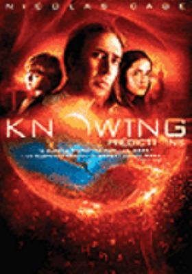 Cover image for Knowing [DVD] / an Alex Proyas film.