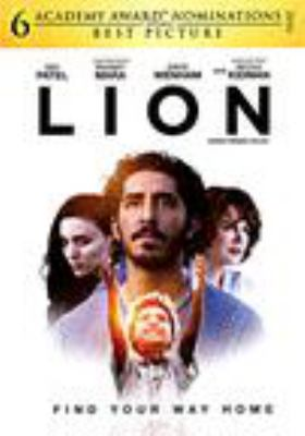 Cover image for Lion [DVD] / director, Garth Davis.