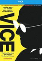 Cover image for Vice [blu-ray] / director, Adam McKay.