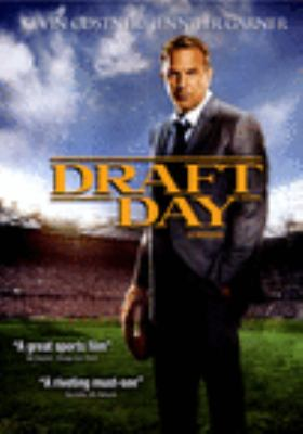 Cover image for Draft day [DVD] / a Lionsgate release of a Summit Entertainment presentation in association with OddLot Entertainment of a Montecito Picture Co./OddLot Entertainment production ; produced by Ivan Reitman, Ali Bell, Joe Medjuck ; written by Rajiv Joseph, Scott Rothman ; directed by Ivan Reitman.