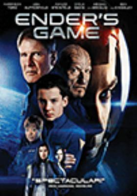 Cover image for Ender's game [DVD] / Entertainment One presents in association with Oddlot Entertainment, a Chartoff Productions, Taleswapper, Oddlot Entertainment, K/O Paper Products, Digital Domain presents ; produced by Gigi Pritzker [and seven others] ; screenplay by Gaving Hood ; directed by Gavin Hood
