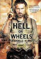 Cover image for Hell on wheels. The complete 2nd season [DVD]