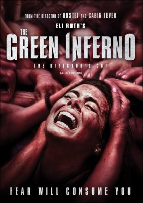 Cover image for The green inferno [DVD] / directed by Eli Roth.
