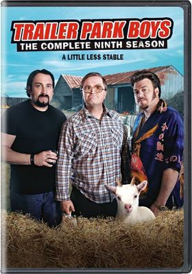 Cover image for Trailer park boys. The complete nine season [DVD] / Entertainment One presents a Sunnyvale Productions 9 production ; produced by Mike Smith, John Paul Tremblay, Robb Wells ; written by Mike Smith [and three others] ; directed by Ron Murphy [and three others].