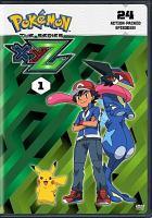 Cover image for Pokemon the series. XYZ, Set 1 [DVD]