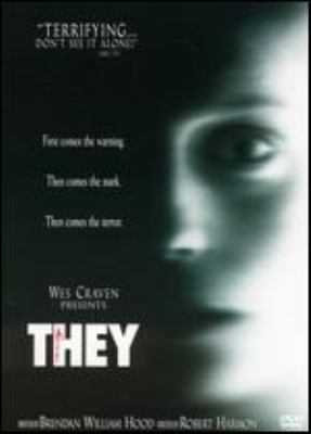 Cover image for They [DVD] / Focus Features presents in association with Dimension Films a Radar Pictures production, a Wes Craven presentation ; producers, Scott Kroopf, Tom Engelman ; writer, Brendan William Hood ; director, Robert Harmon.