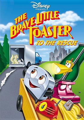 Cover image for The brave little toaster to the rescue [DVD] / A Hyperion Pictures/Kushner-Locke Production ; producer John Bush ; produced by Donald Kushner and Tom Wilhite ; directed by Robert C. Ramirez ; story and screenplay by Willard Carroll.