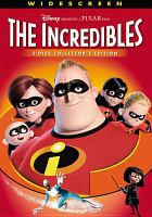 Cover image for The Incredibles [DVD] / Walt Disney Pictures presents a Pixar Animation Studios film ; written & directed by Brad Bird ; produced by John Walker ; executive producer, John Lasseter ; directors of photography, Janet Lucroy, Patrick Lin, Andrew Jimenez.
