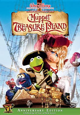 Cover image for Muppet Treasure Island [DVD] / Jim Henson Productions ; Walt Disney Pictures ; producers, Martin G. Baker, Brian Henson ; screenplay by Jerry Juhl & Kirk R. Thatcher and James V. Hart ; directed by Brian Henson.