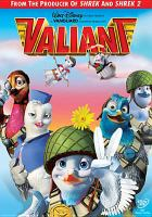 Cover image for Valiant [DVD] / Walt Disney Pictures presents a Vanguard Animation Production in association with Ealing Studios, Odyssey Motion Pictures, UK Film Council and Take Film Partnerships ; produced by John H. Williams ; story by George Webster ; screenplay by Jordan Katz and George Webster and George Melrod ; directed by Gary Chapman.