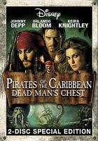 Cover image for Pirates of the Caribbean. Dead man's chest [DVD] / Walt Disney Pictures presents in association with Jerry Bruckheimer Films a Gore Verbinski film ; directed by Gore Verbinski ; written by Ted Elliott & Terry Rossio ; produced by Jerry Bruckheimer ; executive producers, Mike Stenson, Chad Oman, Bruce Hendricks, Eric McLeod ; director of photography, Dariusz Wolski.