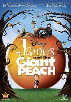 Cover image for James and the giant peach [DVD] / Walt Disney Pictures presents in association with Allied Filmmakers ; screenplay by Karey Kirkpatrick and Jonathan Roberts & Steve Bloom ; produced by Denise Di Novi and Tim Burton ; directed by Henry Selick.