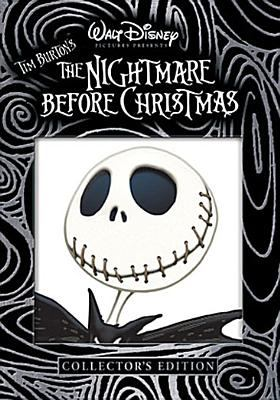 Cover image for The nightmare before Christmas [DVD] / Walt Disney Pictures presents ; produced by Tim Burton, Denise di Novi ; screenplay by Caroline Thompson ; directed by Henry Selick.
