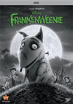 Cover image for Frankenweenie [DVD] / Disney presents a film by Tim Burton ; executive producer, Don Hahn ; produced by Tim Burton, Allison Abbate ; screenplay by John August ; directed by Tim Burton.