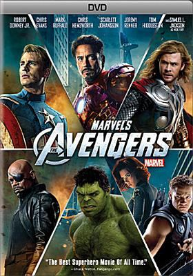Cover image for Marvel's The Avengers [DVD] / Marvel Studios presents ;  association with Paramount Pictures ; a Marvel Studios presentation ; a Joss Wheden film ; directed by Joss Whedon ; screenplay by Joss Whedon ; produced by Kevin Feige.