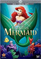 Cover image for The little mermaid [DVD] / Walt Disney Pictures presents ; produced in association with Silver Screen Partners IV ; songs by Howard Ashman and Alan Menken ; original score by Alan Menken ; produced by Howard Ashman and John Musker ; written and directed by John Musker and Ron Clements.