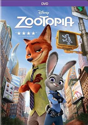 Cover image for Zootopia [DVD] / Disney presents ; directed by Bryon Howard, Rich Moore, Jared Bush ; produced by Clark Spencer ; screenplay by Jared Bush, Phil Johnston ; story by Byron Howard, Jared Bush, Rich Moore, Josie Trinidad, Jim Reardon, Phil Johnston and Jennifer Lee ; additional story material by Dan Fogelman.