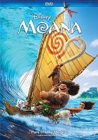 Cover image for Moana [DVD] / screenplay by Jared Bush; directors, Ron Clements, John Muskr, Don Hall, Chris Williams.