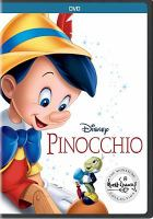Cover image for Pinocchio [DVD] / screenwriter Ted Sears [and seven others] ; directors, Norman Ferguson [and six others].