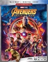 Cover image for Avengers. Infinity war [blu-ray] / Marvel Studios presents ; produced by Kevin Feige ; executive producers, Jon Favreau, James Gunn, Stan Lee, Victoria Alonso, Michael Grillo, Trinh Tran, Louis D'Esposito ; screenplay by Christopher Markus and Stephen McFeely; directed by Anthony and Joe Russo.